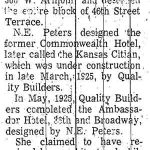 Peters's obituary