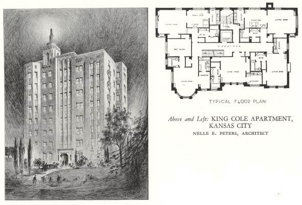 King Cole Apartment complex design