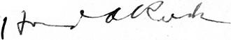 Rusk signature