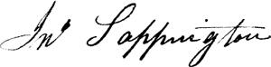 Sappington signature