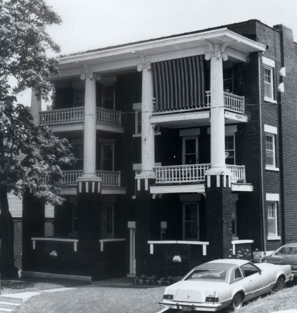 Hanover apartment complex, KC