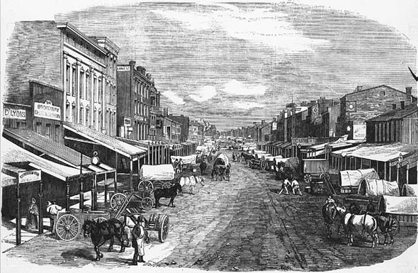 St. Louis in 1865