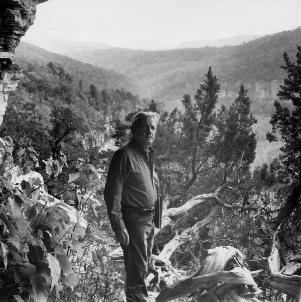 Benton sketching in the mountains