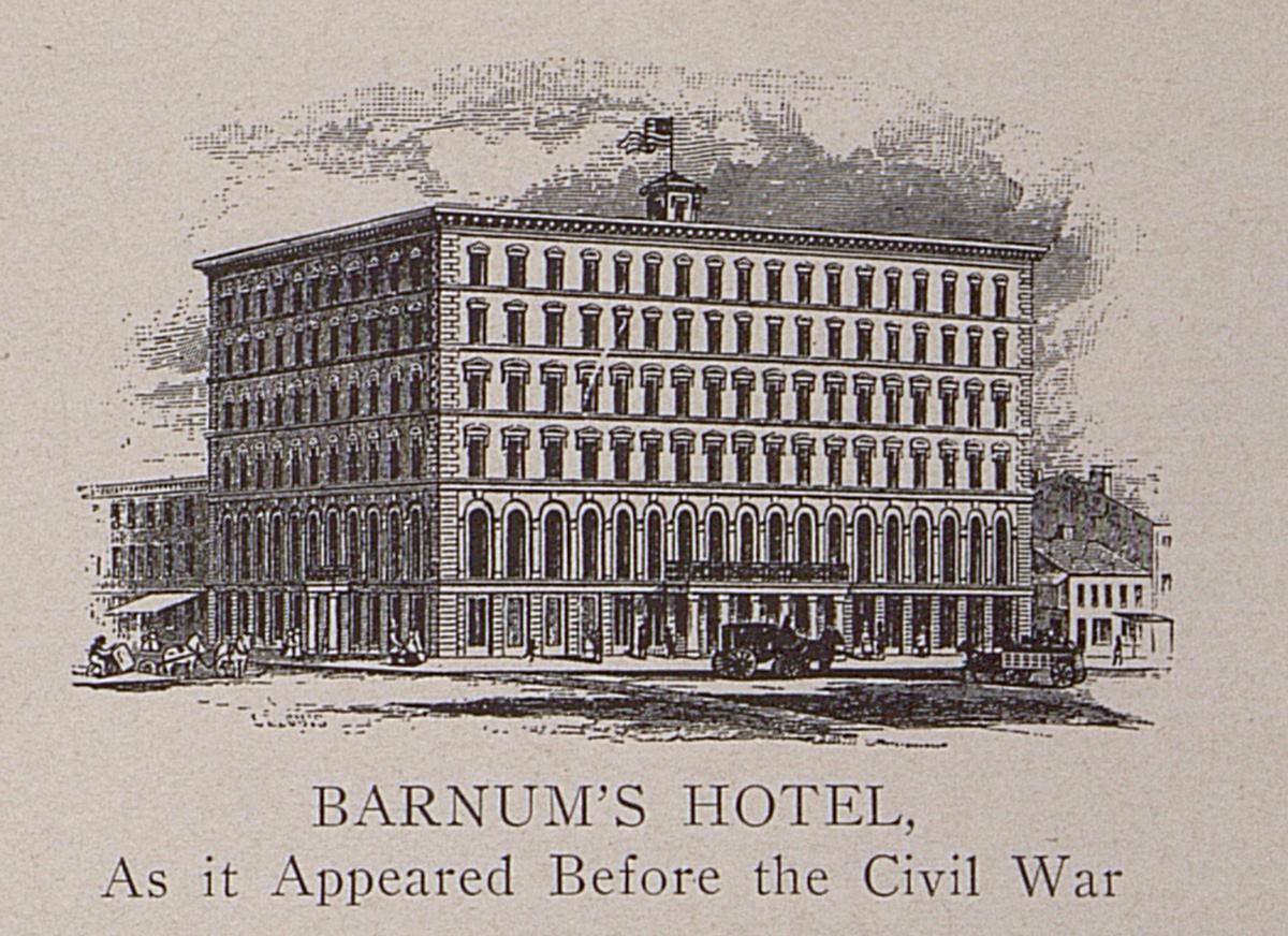 Barnum's Hotel, St. Louis, 1861-1865