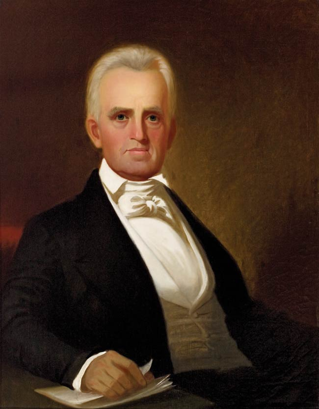 John S. Sappington, 1845