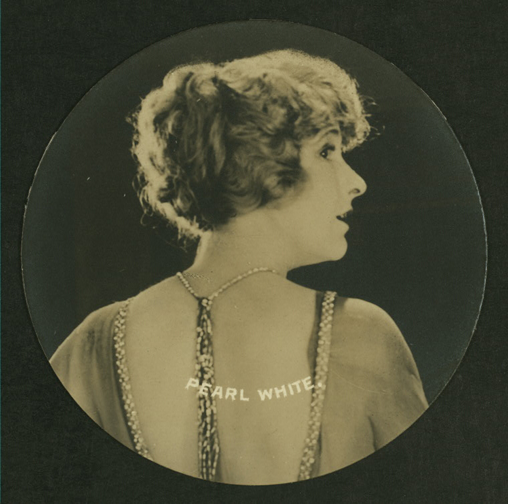 Pearl White Cigarette Card