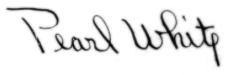 Pearl White Signature