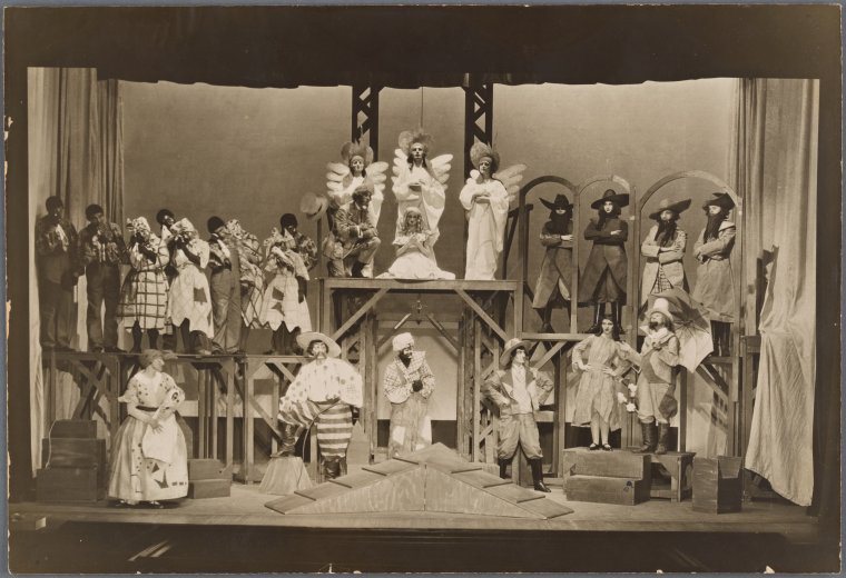 Scene from Uncle Tom's Cabin