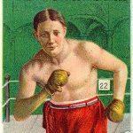 cigarette card showing Stanley Ketchel