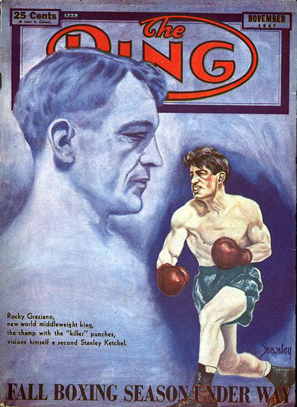 The Ring cover, Nov 1947