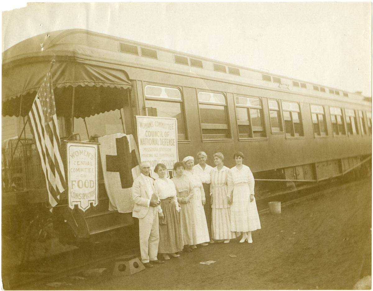 Woman's Central Committee train