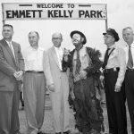 Emmett Kelly Park dedication, 1956