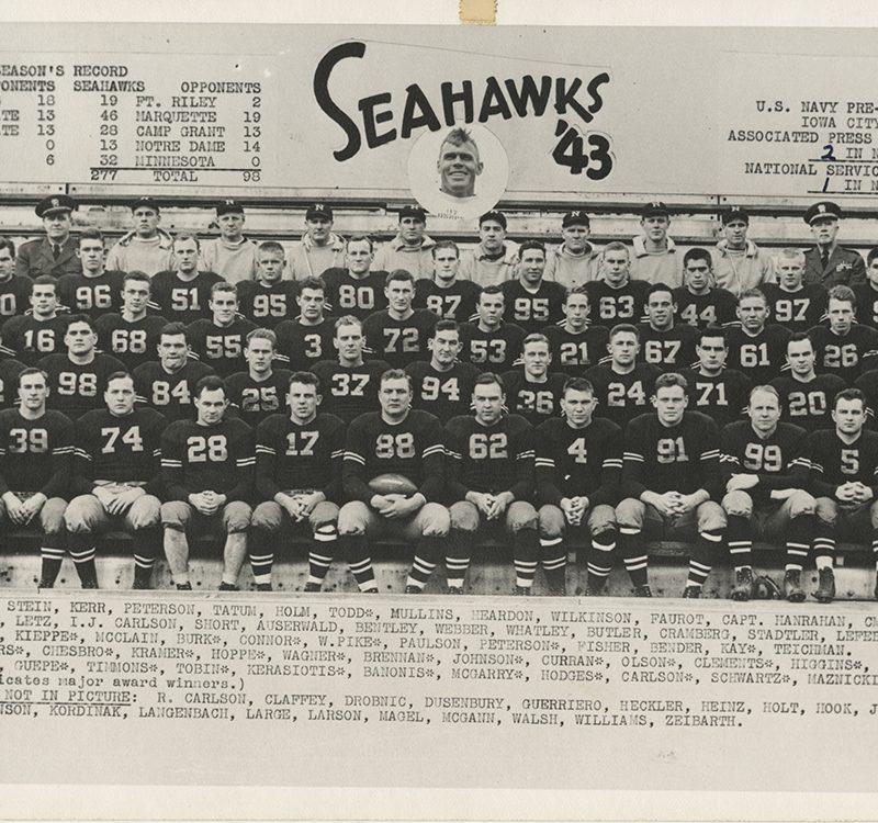 Seahawks Team, 1943