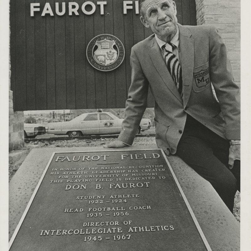 Faurot Field dedication