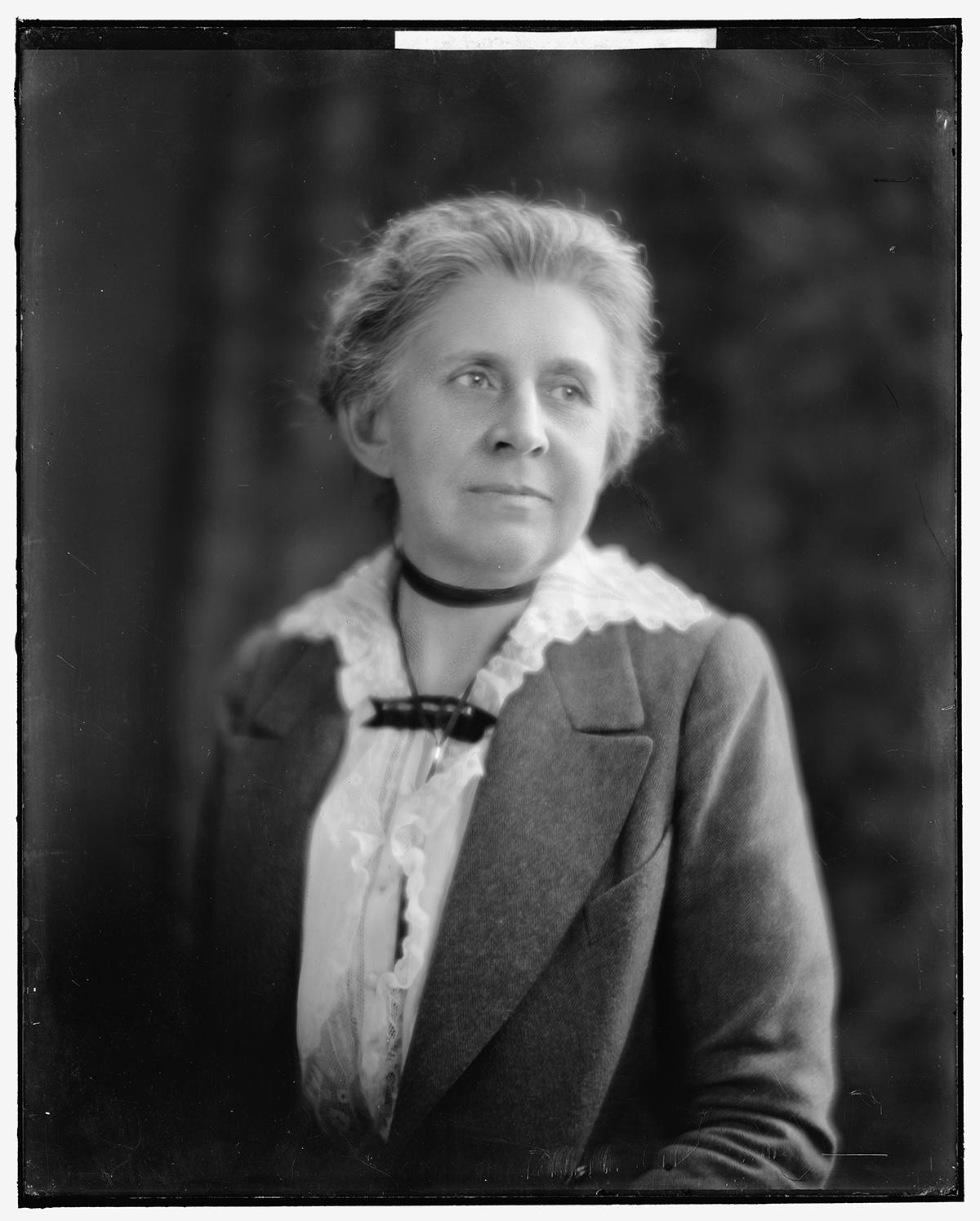 Ida M. Tarbell, [1905]