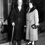 Walter and Sara Williams pose together on a trip to Cordoba in Argentina in 1931.