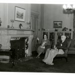 Sara and Walter at their home on South Glenwood in Columbia, Missouri, 1935